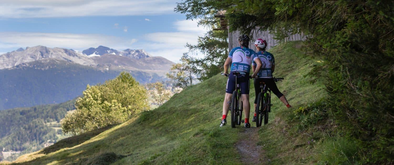 Mountain Bike Eischoll Wallis