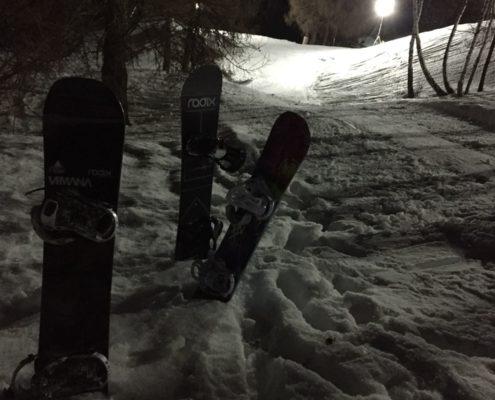 Nachtskifahren Eischoll