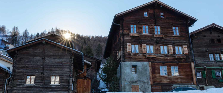 Dorfkern-Eischoll-im-Winter